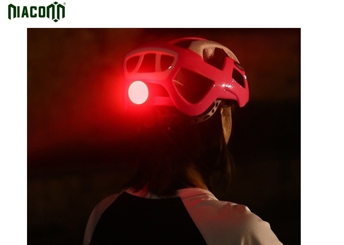 Clip USB Bike Tail Light High Effective Intelligent Circuit With 5 Modes
