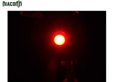 China Micro USB Bicycle Tail Light With 3w Led And Rechargeable 650mah Battery factory