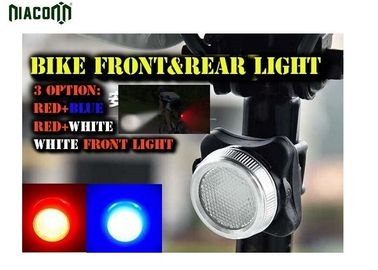 China IP68 Waterproof Usb Rear Bike Light 3w Power ROHS CE Certificated factory