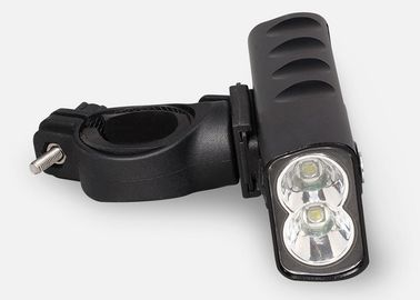 USB Rechargeable Led Bike Front Light 360 Minutes Battery Support Time