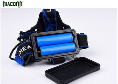 10w USB Rechargeable Headlamp , High Lumen Headlamp Aluminum Material