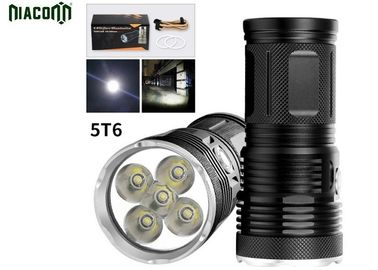 Long Backup Time Led Hunting Flashlight With Rechargeable 8800mah Battery