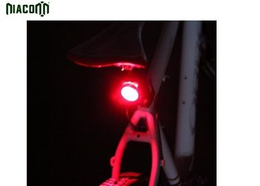 China Waterproof Red USB Bike Tail Light With Rechargeable 650mah Battery factory
