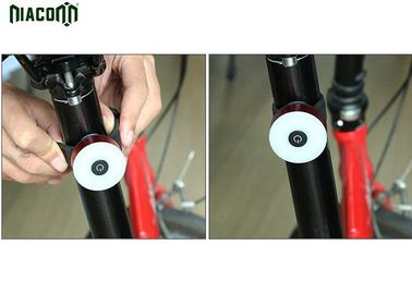 China 650mah Rechargeable USB Bike Tail Light 50m*40mm*45mm With 7 Modes Function factory