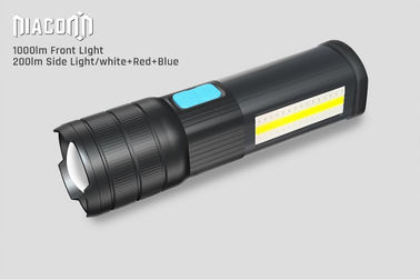 USB Rechargeable cree Led work Flashlight , COB Side work Light with Magnetic Base