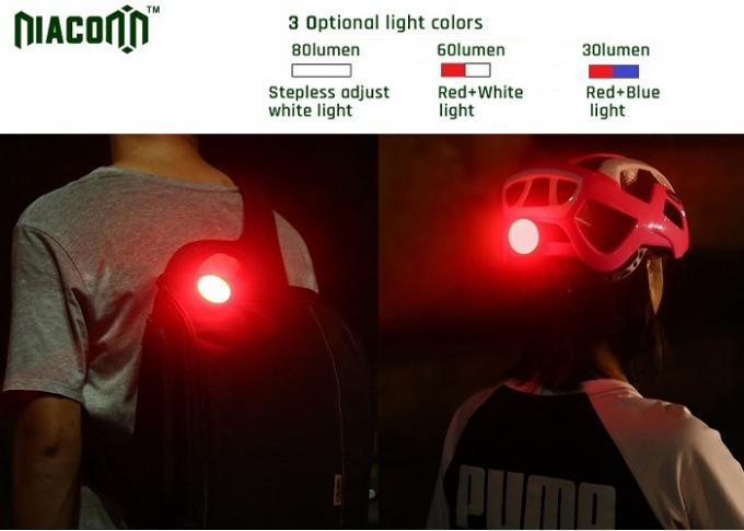 Rechargeable Bicycle Light Sets With 650mah Battery